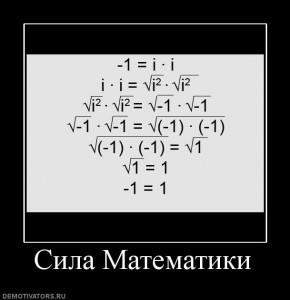 сила математики
