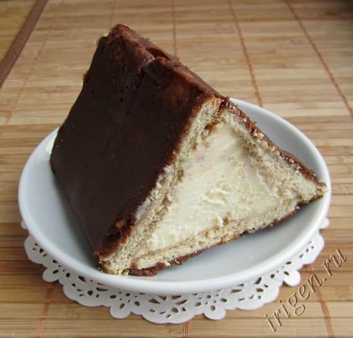 торты из печенья и творога без выпечки рецепты с фото