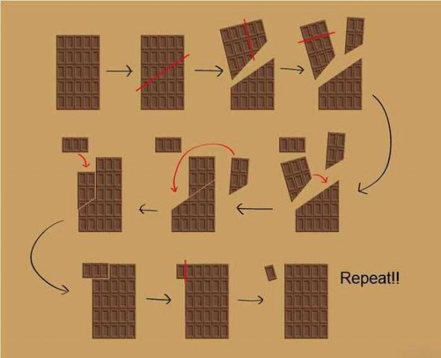 рисунок шоколад